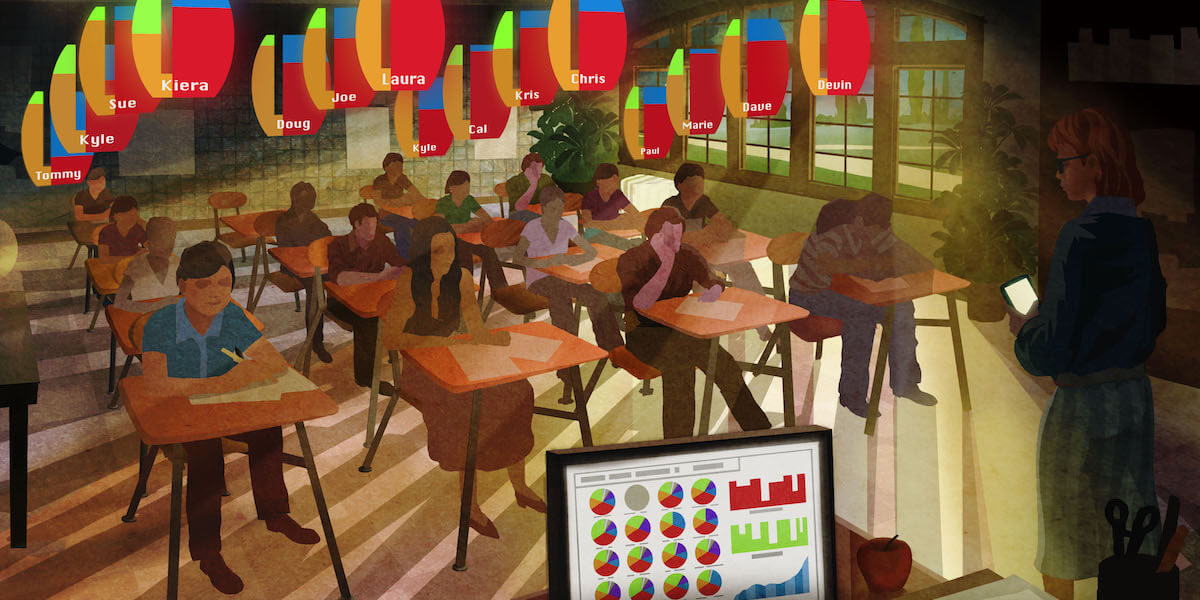 The Classroom of the Future/ Illustration by Tim Szabo