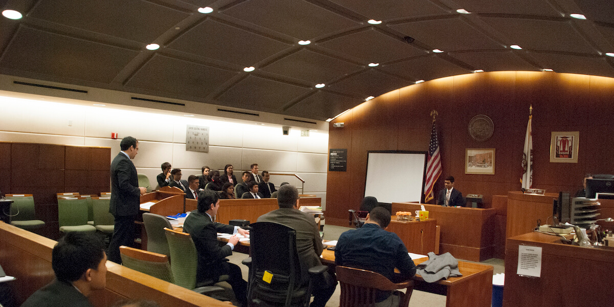 USC Viterbi Students Get Their Day in Court