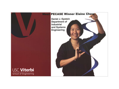 Meet PECASE Winner Elaine Chew