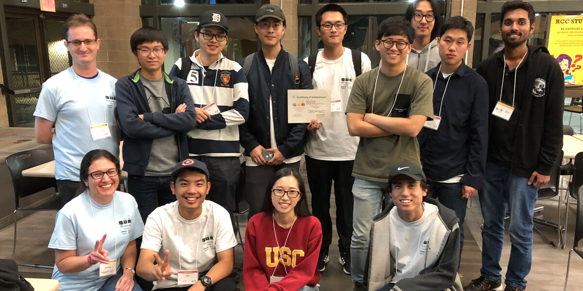 "USC Trojans Repeat as Region's Top Team in ""Coding Olympics"""