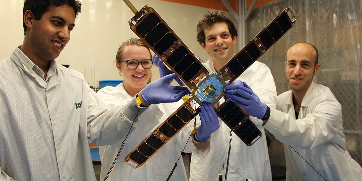 Ready for Launch: Students Deliver USC's Third CubeSat Satellite