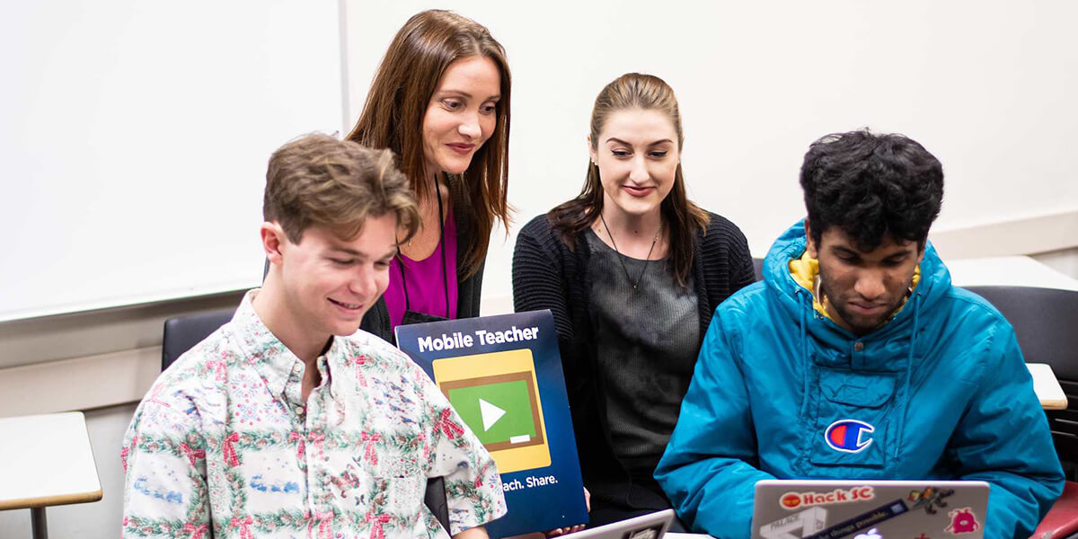 Students Build App That Empowers Teachers in Remote Corners of the World