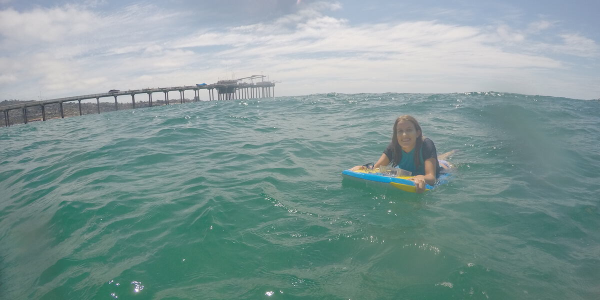 USC Undergraduate Researcher Peers Beneath The Waves